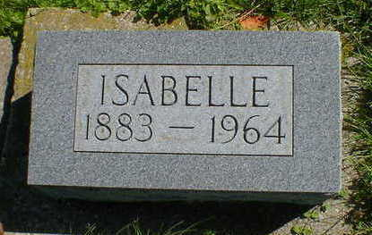 CARVER, ISABELLE - Cerro Gordo County, Iowa | ISABELLE CARVER