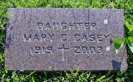 CASEY, MARY CATHERINE - Cerro Gordo County, Iowa   MARY CATHERINE CASEY