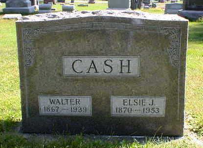 CASH, WALTER - Cerro Gordo County, Iowa | WALTER CASH