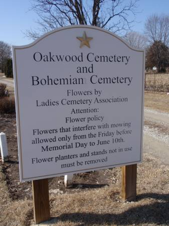OAKWOOD, CEMETERY - Cerro Gordo County, Iowa | CEMETERY OAKWOOD