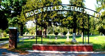 ROCK FALLS, CEMETERY - Cerro Gordo County, Iowa | CEMETERY ROCK FALLS