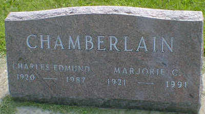 CHAMBERLAIN, CHARLES EDMUND - Cerro Gordo County, Iowa   CHARLES EDMUND CHAMBERLAIN