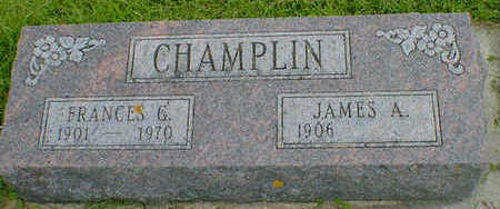 CHAMPLIN, JAMES A. - Cerro Gordo County, Iowa | JAMES A. CHAMPLIN