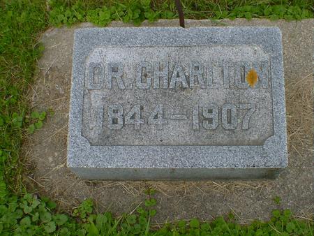 CHARLTON, DR. - Cerro Gordo County, Iowa   DR. CHARLTON