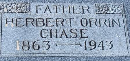 CHASE, HERBERT ORRIN - Cerro Gordo County, Iowa   HERBERT ORRIN CHASE