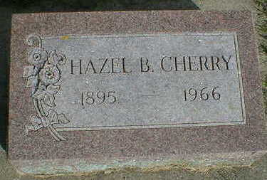CHERRY, HAZEL B. - Cerro Gordo County, Iowa | HAZEL B. CHERRY