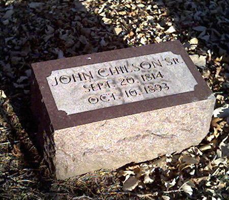 CHILSON, JOHN SR. - Cerro Gordo County, Iowa | JOHN SR. CHILSON