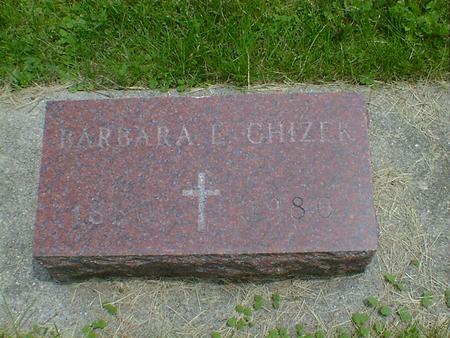 CHIZEK, BARBARA E. - Cerro Gordo County, Iowa | BARBARA E. CHIZEK