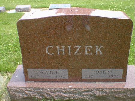CHIZEK, ELIZABETH - Cerro Gordo County, Iowa | ELIZABETH CHIZEK