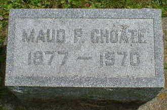 CHOATE, MAUD P. - Cerro Gordo County, Iowa | MAUD P. CHOATE