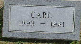 CHRISTENSEN, CARL - Cerro Gordo County, Iowa   CARL CHRISTENSEN