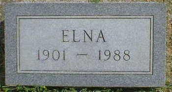 CHRISTENSEN, ELNA - Cerro Gordo County, Iowa | ELNA CHRISTENSEN