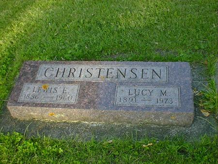 CHRISTENSEN, LEWIS E. - Cerro Gordo County, Iowa | LEWIS E. CHRISTENSEN