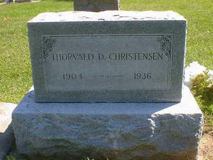 CHRISTENSEN, THORVALD D. - Cerro Gordo County, Iowa   THORVALD D. CHRISTENSEN