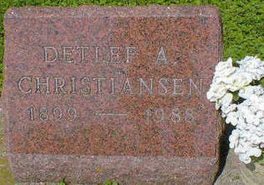 CHRISTIANSEN, DETLEF A. - Cerro Gordo County, Iowa | DETLEF A. CHRISTIANSEN