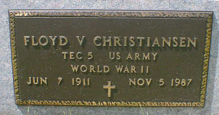 CHRISTIANSEN, FLOYD V. - Cerro Gordo County, Iowa | FLOYD V. CHRISTIANSEN