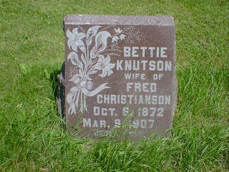 CHRISTIANSON, BETTIE - Cerro Gordo County, Iowa | BETTIE CHRISTIANSON