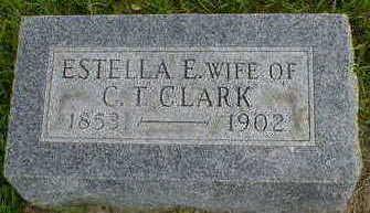 CLARK, ESTELLA E. - Cerro Gordo County, Iowa   ESTELLA E. CLARK