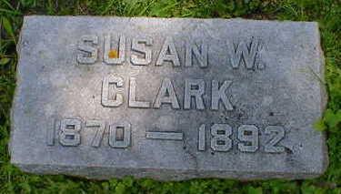 CLARK, SUSAN W. - Cerro Gordo County, Iowa | SUSAN W. CLARK