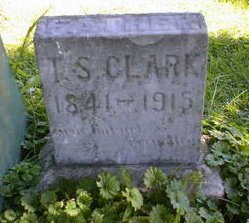 CLARK, T. S. - Cerro Gordo County, Iowa | T. S. CLARK