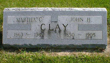 CLAY, MARTHA C. - Cerro Gordo County, Iowa | MARTHA C. CLAY