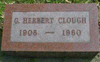 CLOUGH, G. HERBERT - Cerro Gordo County, Iowa | G. HERBERT CLOUGH
