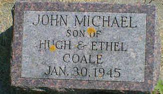 COALE, JOHN MICHAEL - Cerro Gordo County, Iowa | JOHN MICHAEL COALE
