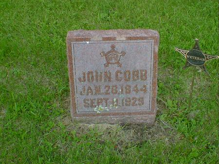 COBB, JOHN - Cerro Gordo County, Iowa | JOHN COBB