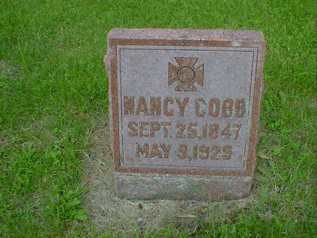 COBB, NANCY - Cerro Gordo County, Iowa | NANCY COBB