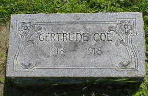 COE, GERTRUDE - Cerro Gordo County, Iowa | GERTRUDE COE
