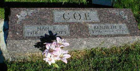 COE, KENNETH R. - Cerro Gordo County, Iowa | KENNETH R. COE