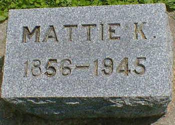 COLBURN, MATTIE K. - Cerro Gordo County, Iowa | MATTIE K. COLBURN