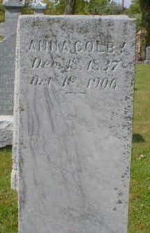 COLBY, ANNA - Cerro Gordo County, Iowa | ANNA COLBY