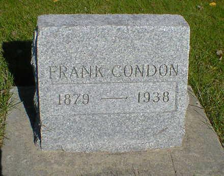 CONDON, FRANK - Cerro Gordo County, Iowa | FRANK CONDON