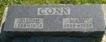CONN, JOSEPH - Cerro Gordo County, Iowa | JOSEPH CONN