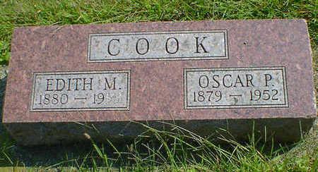 COOK, EDITH M. - Cerro Gordo County, Iowa   EDITH M. COOK