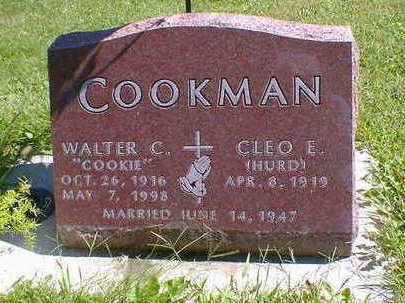 COOKMAN, WALTER C. - Cerro Gordo County, Iowa | WALTER C. COOKMAN