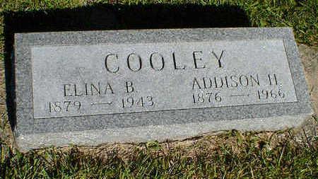 COOLEY, ADDISON H. - Cerro Gordo County, Iowa | ADDISON H. COOLEY