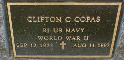 COPAS, CLIFTON C. - Cerro Gordo County, Iowa | CLIFTON C. COPAS
