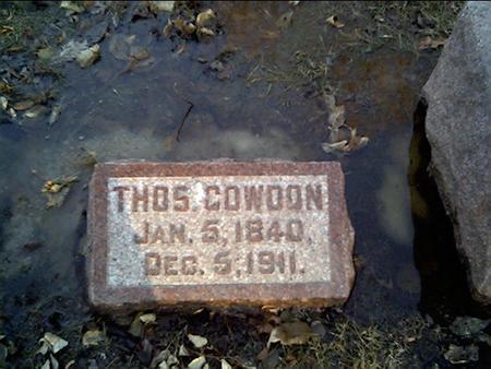 COWDON, THOS - Cerro Gordo County, Iowa | THOS COWDON