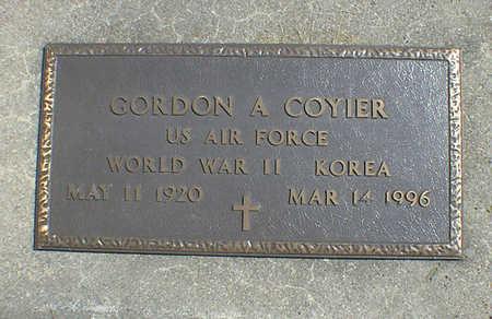 COYIER, GORDON A. - Cerro Gordo County, Iowa   GORDON A. COYIER