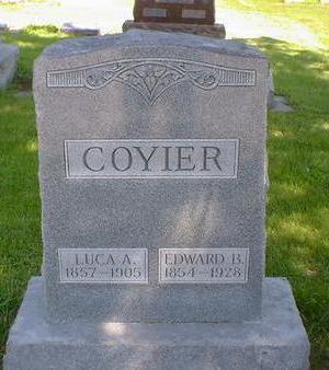 COYIER, EDWARD B. - Cerro Gordo County, Iowa | EDWARD B. COYIER