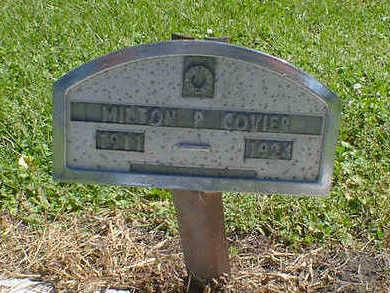 COYIER, MILTON P. - Cerro Gordo County, Iowa | MILTON P. COYIER