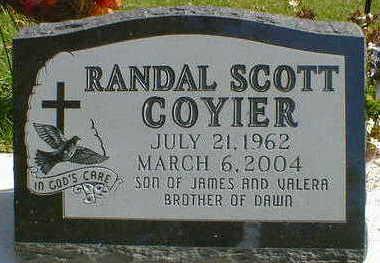 COYIER, RANDAL SCOTT - Cerro Gordo County, Iowa | RANDAL SCOTT COYIER