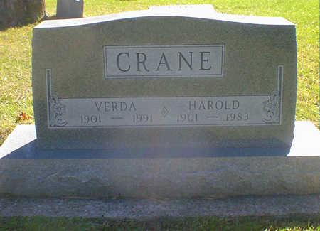 CRANE, VERDA - Cerro Gordo County, Iowa | VERDA CRANE