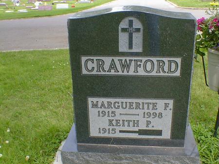 CRAWFORD, MARGUERITE F. - Cerro Gordo County, Iowa | MARGUERITE F. CRAWFORD
