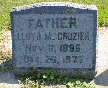 CROZIER, LLOYD M. - Cerro Gordo County, Iowa | LLOYD M. CROZIER