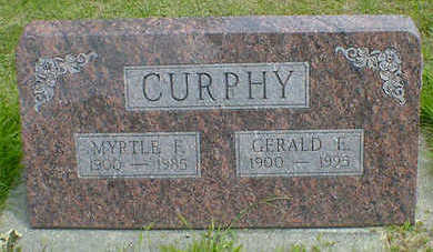 CURPHY, GERALD E. - Cerro Gordo County, Iowa | GERALD E. CURPHY