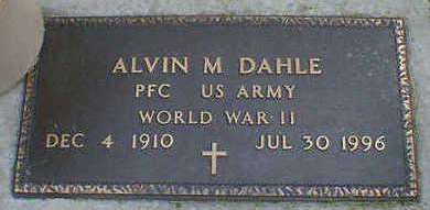 DAHLE, ALVIN M. - Cerro Gordo County, Iowa | ALVIN M. DAHLE