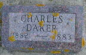 DAKER, CHARLES - Cerro Gordo County, Iowa | CHARLES DAKER